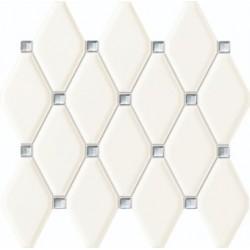 Mozaika Abisso white 29,8x27