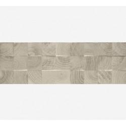 Daikiri Grys Wood Kostki struktura 25x75