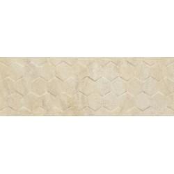 Arena Cream Hexagon 25X75