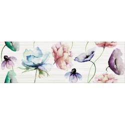 Elegant Stripes Multicolour Inserto Flower 25X75 G.1