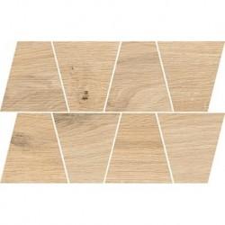 Natural Sand Mosaic Trapeze 19X30,6 G.1