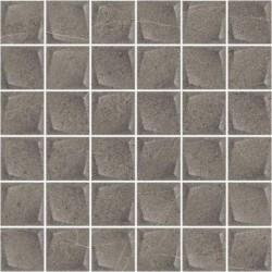 Minimal Stone Grafit Mozaika Prasowana K.4,8X4,8 29,8X29,8 G.1