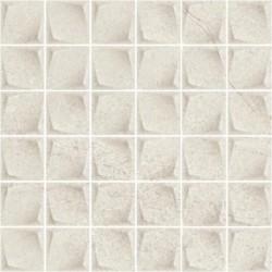 Minimal Stone Grys Mozaika Prasowana K.4,8X4,8 29,8X29,8 G.1