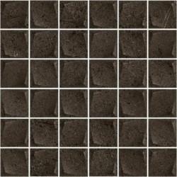 Minimal Stone Nero Mozaika Prasowana K.4,8X4,8 29,8X29,8 G.1