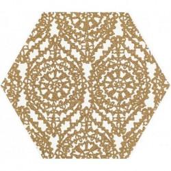 Shiny Lines Gold Heksagon Inserto A 19,8X17,1 G.1