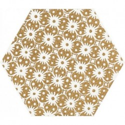 Shiny Lines Gold Heksagon Inserto D 19,8X17,1 G.1