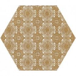 Shiny Lines Gold Heksagon Inserto E 19,8X17,1 G.1