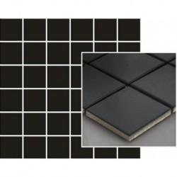 Albir Nero Mozaika Prasowana K.4,8X4,8 29,8X29,8 G.1