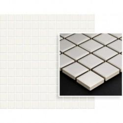 Albir Bianco Mozaika Prasowana K.2,3X2,3 29,8X29,8 G.1