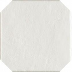Modern Bianco Gres Szkl. Struktura Octagon 19,8X19,8 G.1