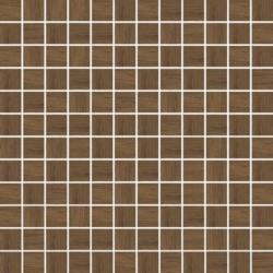 Loft Brown Wood Mozaika Prasowana K.2,3X2,3 29,8X29,8 G.1